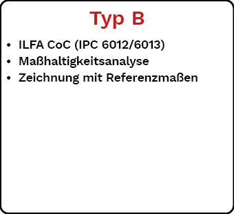 Lieferdokumentation Typ B