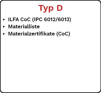 Lieferdokumentation Typ D