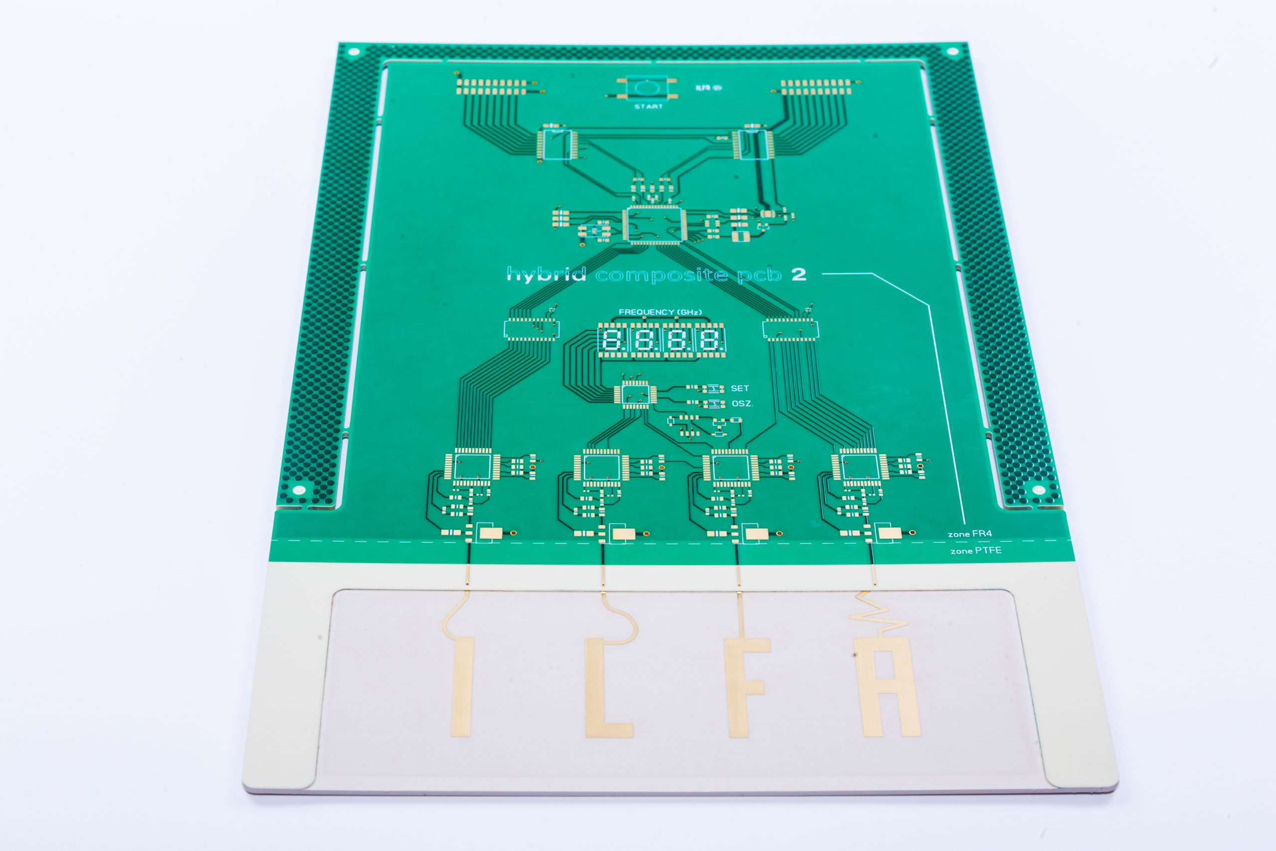 Hybrid PCB ILFA Design