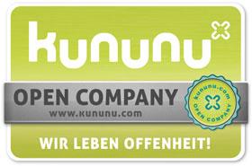 Kununu Open Company-Label